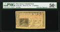 Colonial Notes:New Jersey, John Hart Signed New Jersey March 25, 1776 15s PMG About Uncirculated 50 EPQ.. ...