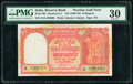 India Reserve Bank of India 10 Rupees ND (1959-70) Pick R3 PMG Very Fine 30