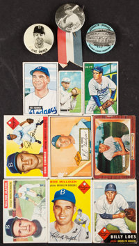 1911-1961 Topps, Bowman and Playball Brooklyn Dodger Collection (99)