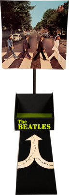 The Beatles Original Abbey Road Promotional Floor Display in the Box (1969)