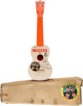 Music Memorabilia:Memorabilia, The Beatles Big Beat Guitar in Original Box by Selcol (UK, 1964)....