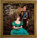 Music Memorabilia:Autographs and Signed Items, Prince Charles and Princess Diana Signed The Royal Tribute Vinyl LP Album (Columbia, C2 37655)....