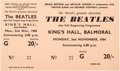 Music Memorabilia:Memorabilia, The Beatles Unused King's Hall Concert Ticket, (UK, November 2,1964). ...