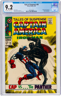 Tales of Suspense #98 (Marvel, 1968) CGC NM- 9.2 Off-white to white pages