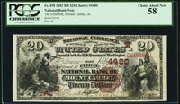 Mount Carmel, IL - $20 1882 Brown Back Fr. 498 The First National Bank Ch. # (M)4480 PCGS Choice About