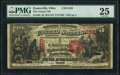 Zanesville, OH - $5 1875 Fr. 405 The Citizens National Bank Ch. # 2529 PMG Very Fine 25