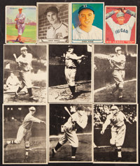 1914-41 Goudey, Playball and B18 Blankets Baseball Collection (18)