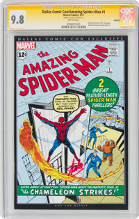 The Amazing Spider-Man #1 Dallas Comic Con Exclusive Reprint - Signature Series (Marvel, 2011) CGC NM/MT 9.8 White pages...