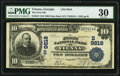 Vienna, GA - $10 1902 Date Back Fr. 619 The First National Bank Ch. # (S)9618 PMG Very Fine 30