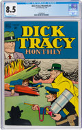 Dick Tracy Monthly #2 (Dell, 1948) CGC VF+ 8.5 Off-white pages