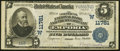National Bank Notes:Kansas, Emporia, KS - $5 1902 Plain Back Fr. 607 The Commercial National Bank & Trust Company Ch. # (W)11781 Very Fine.. ...