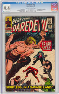 Silver Age (1956-1969):Superhero, Daredevil #12 (Marvel, 1966) CGC NM 9.4 Off-white to white pages....