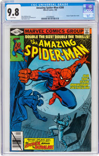 The Amazing Spider-Man #200 (Marvel, 1980) CGC NM/MT 9.8 White pages