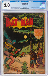 Batman #78 (DC, 1953) CGC GD 2.0 Cream to off-white pages