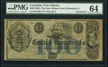 Obsoletes By State:Louisiana, New Orleans, LA- New Orleans Canal and Banking Company $100 18__ G56a Remainder PMG Choice Uncirculated 64.. ...