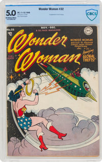 Wonder Woman #32 (DC, 1948) CBCS VG/FN 5.0 Off-white to white pages
