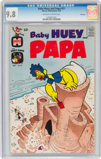 Baby Huey and Papa #31 File Copy (Harvey, 1967) CGC NM/MT 9.8 Off-white to white pages