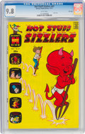 Bronze Age (1970-1979):Humor, Hot Stuff Sizzlers #47 File Copy (Harvey, 1971) CGC NM/MT 9.8 White pages....