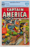 Golden Age (1938-1955):Superhero, Captain America Comics #8 (Timely, 1941) CBCS Restored VG 4.0 (Mod Professional) Off-white to white pages....