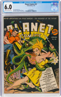 Golden Age (1938-1955):Science Fiction, Planet Comics #22 (Fiction House, 1943) CGC FN 6.0 Cream to off-white pages....
