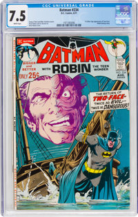 Batman #234 (DC, 1971) CGC VF- 7.5 White pages