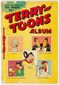 Giant Comics Edition #3 Terry-Toons Album (St. John, 1948) Condition: GD/VG
