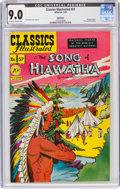 Golden Age (1938-1955):Classics Illustrated, Classics Illustrated #57 The Song of Hiawatha - First Edition - Spokane Pedigree (Gilberton, 1949) CGC VF/NM 9.0 Off-white to ...