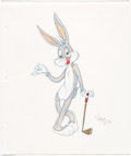 Animation Art:Production Drawing, Virgil Ross - Bugs Bunny Illustration (Warner Brothers, c. 1990s)....