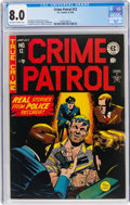 Golden Age (1938-1955):Crime, Crime Patrol #12 (EC, 1949) CGC VF 8.0 Off-white to white pages....