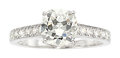 Estate Jewelry:Rings, Diamond, White Gold Ring, Cartier, French . ...