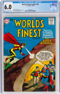 Silver Age (1956-1969):Superhero, World's Finest Comics #90 (DC, 1957) CGC FN 6.0 Off-white ...
