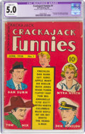Golden Age (1938-1955):Humor, Crackajack Funnies #1 (Dell, 1938) CGC Apparent VG/FN 5.0 Slight (C-1) Off-white pages....