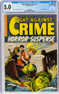 Golden Age (1938-1955):Crime, Fight Against Crime #12 (Story Comics, 1953) CGC VG/FN 5.0 Slightly brittle pages....