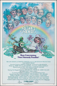"The Muppet Movie (Associated Film Distributors, 1979). Folded, Very Fine. One Sheet (27"" X 41""). Musical"