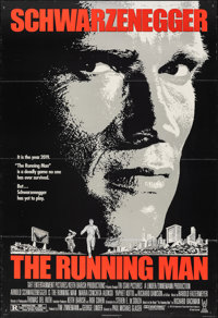 "The Running Man & Other Lot (Tri-Star, 1987). Folded, Fine/Very Fine. One Sheets (2) (27"" X 40"" & 27&q..."