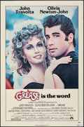 """Movie Posters:Musical, Grease (Paramount, 1978). Folded, Fine/Very Fine. One Sheet (27"""" X 41""""). Musical.. ..."""