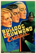 """Movie Posters:Mystery, Bulldog Drummond Escapes (Paramount, 1937). Fine+ on Linen. One Sheet (27.5"""" X 41""""). From the Mike Kaplan Collection. . ..."""