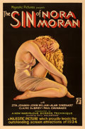 "Movie Posters:Crime, The Sin of Nora Moran (Majestic, 1933). Very Good/Fine on Linen. One Sheet (27"" X 41""). Alberto Vargas Artwork.. ..."