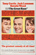 "Movie Posters:Comedy, The Great Race (Warner Bros., 1965). Folded, Very Fine+. One Sheet (27"" X 41""). Comedy.. ..."