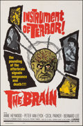 """Movie Posters:Horror, The Brain (Governor Films, 1962). Folded, Very Fine/Near Mint. One Sheet (27"""" X 41""""). Horror.. ..."""