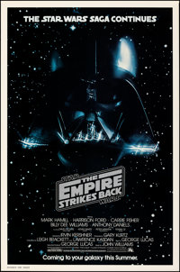 """The Empire Strikes Back (20th Century Fox, 1980). Rolled, Very Fine+. One Sheet (27"""" X 41"""") Advance. Science F..."""