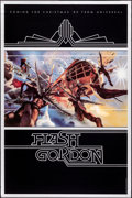 """Movie Posters:Science Fiction, Flash Gordon (Universal, 1980). Rolled, Very Fine. Mylar One Sheet (25.25"""" X 38"""") Teaser, Philip Castle Artwork. Science Fic..."""