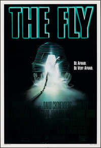 "The Fly (20th Century Fox, 1986). Rolled, Very Fine. One Sheet (27"" X 41"") Richard Mahon Artwork. Horror"