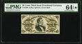 Fractional Currency:Third Issue, Fr. 1294 25¢ Third Issue PMG Choice Uncirculated 64 EPQ*.. ...