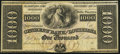 Obsoletes By State:Louisiana, New Orleans, LA- Citizens' Bank of Louisiana $1000 18__ Remainder About Uncirculated.. ...