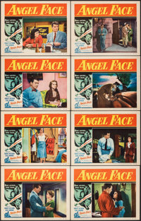 "Angel Face (RKO, 1952). Very Fine-. Lobby Card Set of 8 (11"" X 14""). Film Noir. ... (Total: 8 Items)"