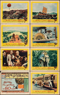 Around the World in 80 Days (United Artists, 1956/R-1968). Fine/Very Fine. Lobby Card Set of 8 & Lobby Cards (7) (11...
