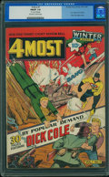 Golden Age (1938-1955):Superhero, 4Most V1#1 (Novelty Press, 1942) CGC FN/VF 7.0 Off-white to white pages.