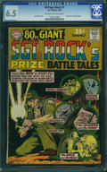 Silver Age (1956-1969):War, 80 Page Giant 7 Sgt. Rock (DC, 1965) CGC FN+ 6.5 Cream to off-white pages.