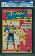 Silver Age (1956-1969):Superhero, Action Comics #267 (DC, 1960) CGC VG 4.0 Cream to off-white pages.